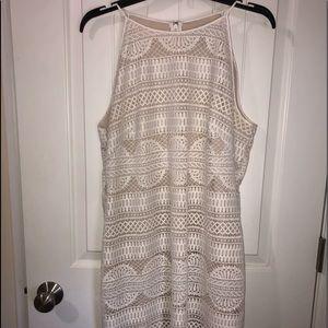 "White ""Lace"" Dress"